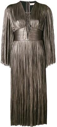 Maria Lucia Hohan pleated midi dress