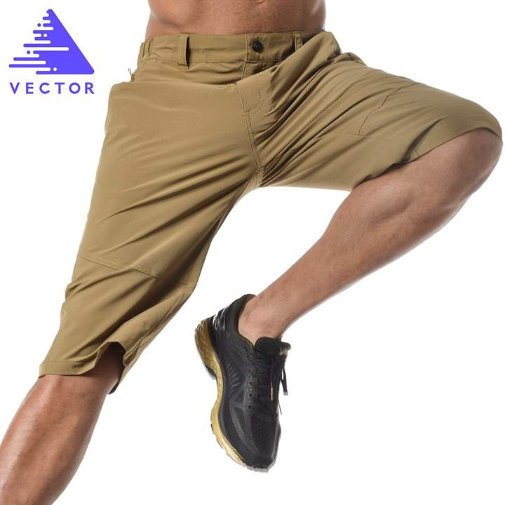 Vector Outdoor Sports Soft Elastic Fitness Quick Dry Pants Running Shorts for Men