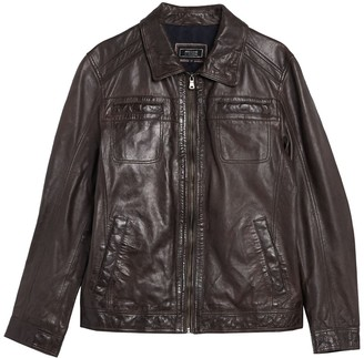 Missani Le Collezioni Turkish Washed Lamb Leather Jacket