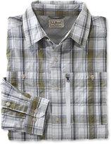 L.L. Bean Cool Weave Shirt, Plaid