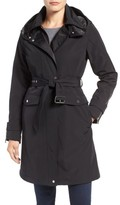 Vince Camuto Women's Hooded Trench Coat