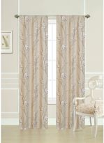 Laura Ashley 84-Inch Pussy Willow Window Curtain Panel Pair