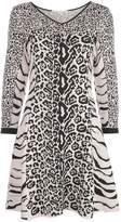 Stella McCartney animal print mini dress