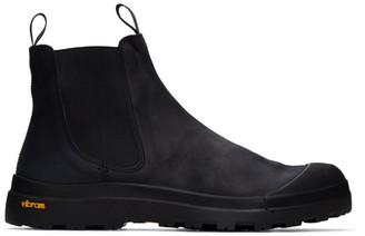 Officine Creative Black Pallet 2 Chelsea Boots