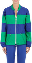 Tory Sport Women's Block-Striped Nylon Windbreaker