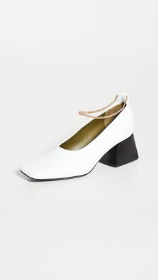 Maria Luca Anklet Pumps