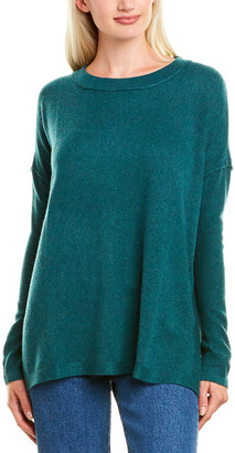 Forte Cashmere Easy Ballet Neck Cashmere Pullover