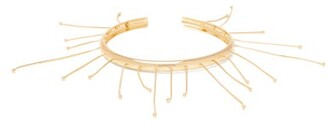 Jil Sander Nail-embellished Bangle - Womens - Gold
