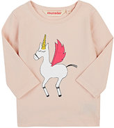 Munster Unicorn-Print Cotton Long-Sleeve T-Shirt
