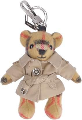 Burberry Vintage Check Thomas Trench Teddy-bear Key Holder
