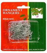 Christmas Ornament Hooks - 1.38 in. Hooks - 100 Pack