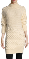 Prabal Gurung Women's Turtleneck Cashmere Sweater