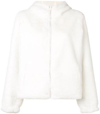 P.A.R.O.S.H. Faux Fur Reversible Jacket