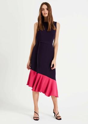Phase Eight Rosina Contrast Hem Dress