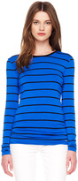 Michael Kors Striped Crewneck Tee