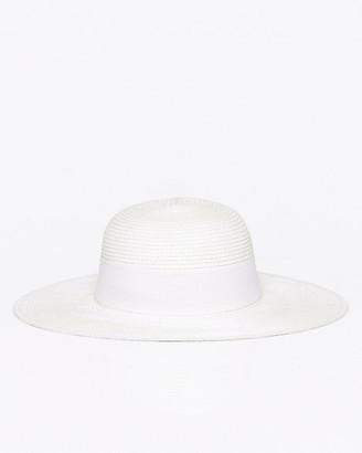 Le Château Paper Floppy Wide Brim Hat