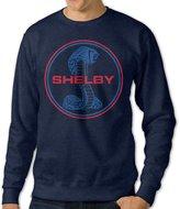 WOOBE Men's Shelby Cobra Logo Sweaters Crewnecks Hoodies