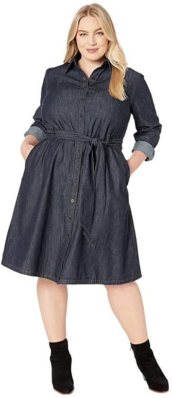 Lauren Ralph Lauren Blue Plus Size Dresses - ShopStyle
