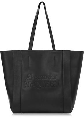 Alexander McQueen Signature Shopper Leather Bag