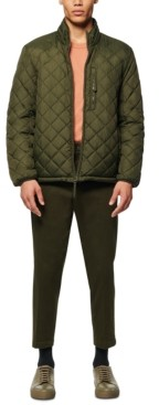 Andrew Marc Men's Fillmore Quilted Sherpa Fleece-Lined Jacket