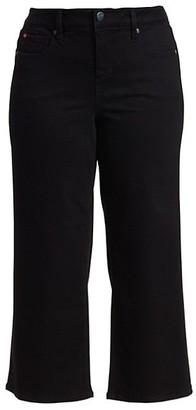 Slink Jeans, Plus Size High-Rise Wide-Leg Jeans