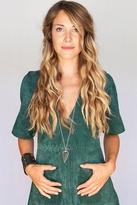 Heather Gardner Land & Sea Arrowhead Necklace in Gold