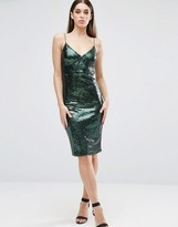Club L Cami Sequin Midi Dress
