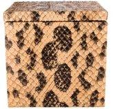 Elisabeth Weinstock Snakeskin Box