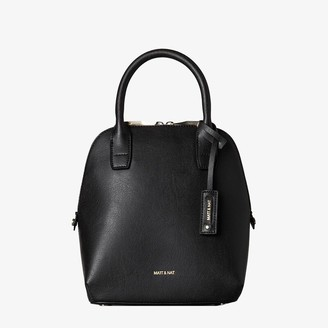 Matt & Nat Matt And Nat GESSI SMALL SATCHEL - BLACK