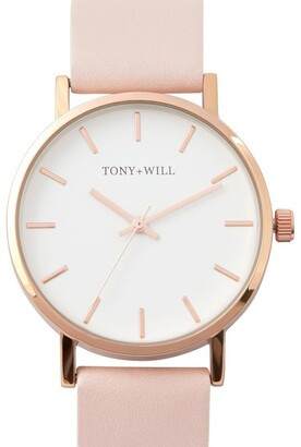 TONY+WILL Small Classic Light Pink TWT004D Watch