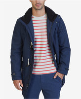 Nautica Men's Weather-Resistant Hooded Toggle Coat