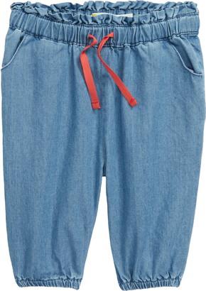 Boden Denim Paperbag Waist Pants