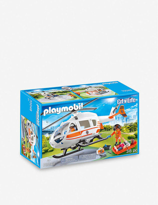 Playmobil City Life Emergency Medical Helicopter set