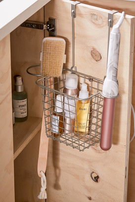 Urban Outfitters Over-The-Cabinet Hair Tool Organizer Basket