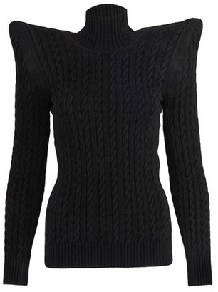 Balenciaga Pagoda turtle neck top