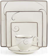 Noritake Dinnerware, Platinum Wave Square Collection