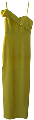 Aidan Mattox Yellow Dress for Women