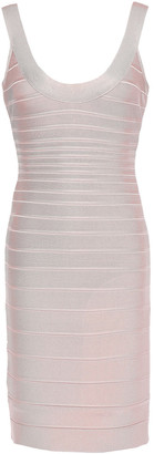 Herve Leger Sydney Open-back Bandage Mini Dress