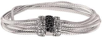 Stephen Dweck Silver Black Spinel Bracelet
