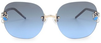 For Art's Sake Bumblebee 59MM Square Sunglasses