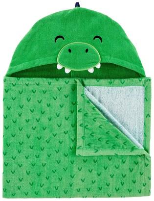 Carter's Baby Boy Dinosaur Hooded Towel