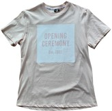 Opening Ceremony Pink Cotton Top for Women