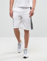 Nike Jordan Basket Shorts In White 831334-100