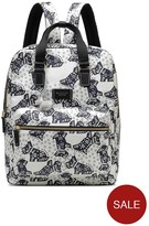 Radley Folk Dog Large Ziptop Backpack