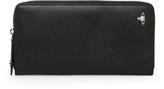 Kent Zip Rount Long Wallet 33416 Black