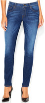 GUESS Power Curvy Mid-Rise Reller Wash Skinny Jeans
