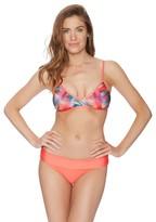 Splendid Plaid Patch Bralette Bikini Top