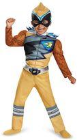 Kohl's Toddler Power Rangers Dino Charge Gold Ranger Muscle Costume