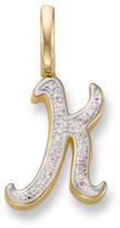 Monica Vinader Diamond Alphabet Pendant K