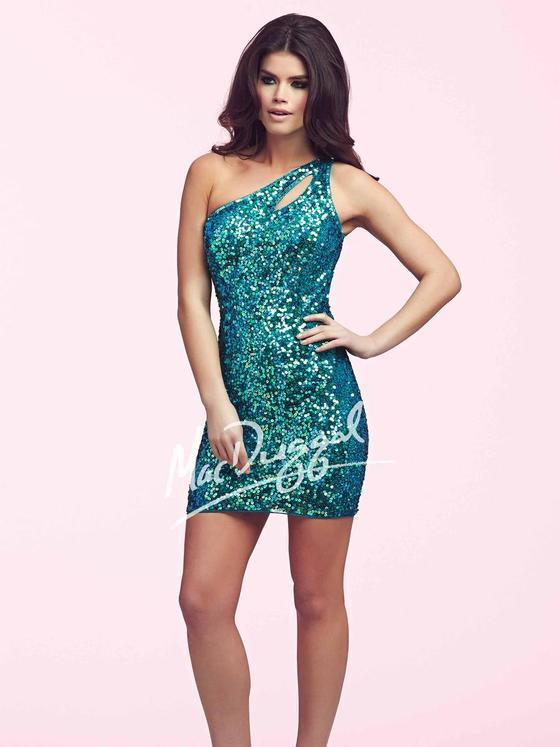 Mac Duggal Prom - 3812 Dress in Peacock